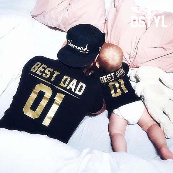 tricou best dad best kid copy