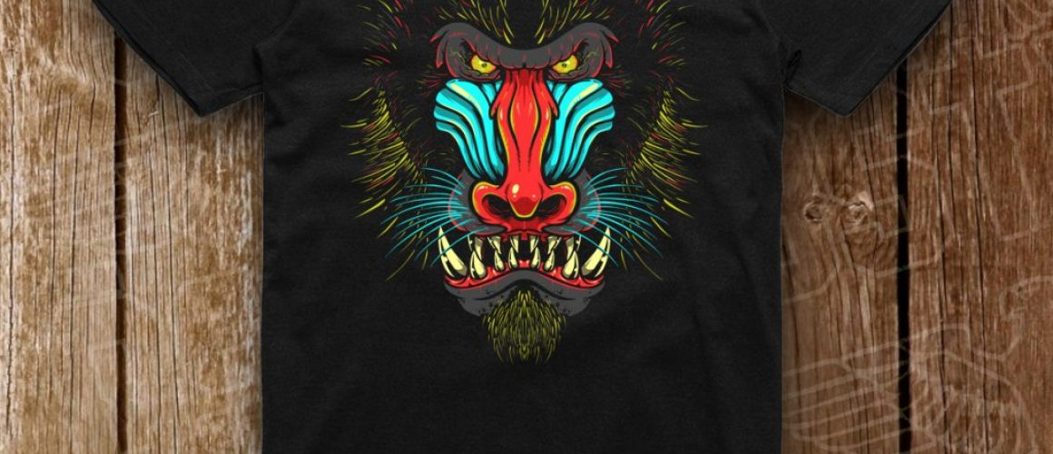 negru baboon