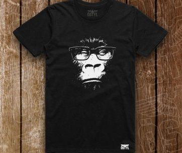 Gorilla w Eyeglasses