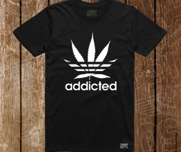 addicted adidas negru