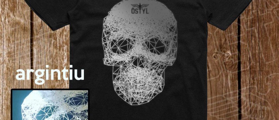 schelet linii lined skull