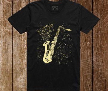 tricou saxofon