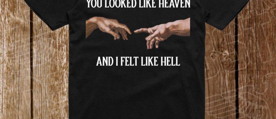 YOU LOOKED LIKE HEAVEN PE NEGRU
