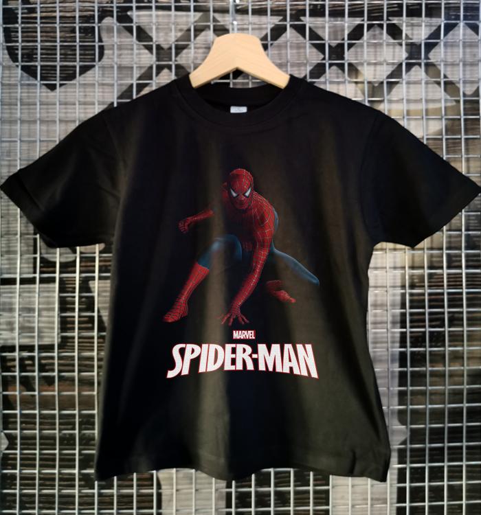 tricou copii superman negru