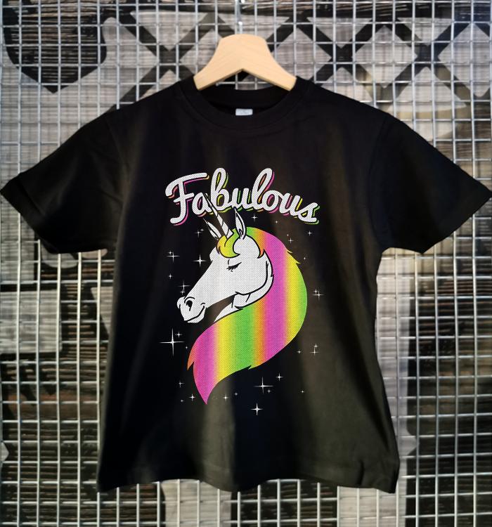 tricou fabulous unicorn fete